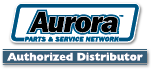 Aurora Parts Distributor Logo